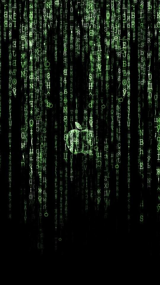 The Matrix Apple  Galaxy Note HD Wallpaper