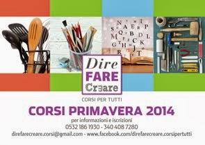 Aprile 2014: il mio nuovo Corso di Cucina Creativa a Ferrara