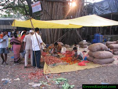 sacks of stored produce
