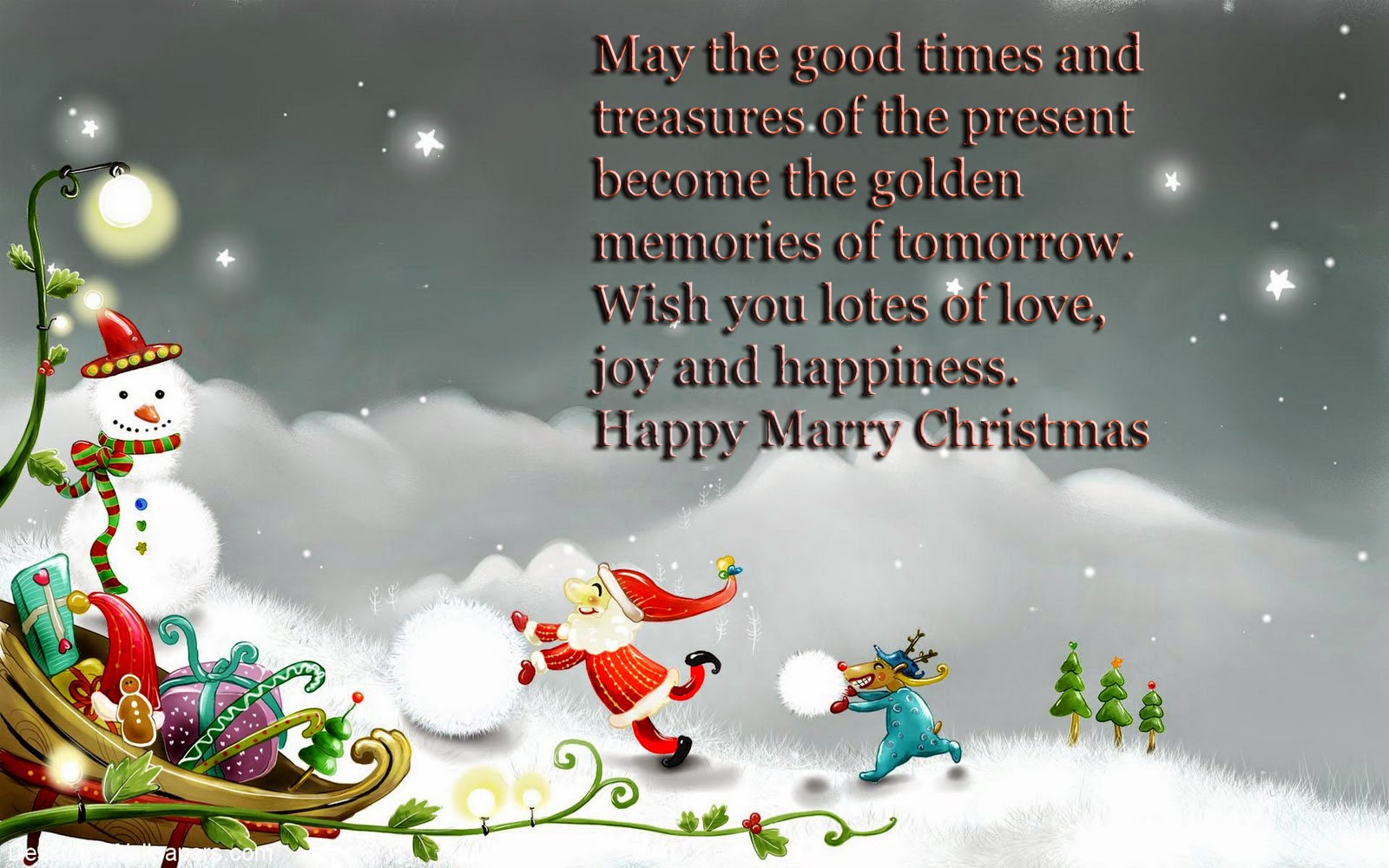 Merry Christmas 2014 greetings message SMS, Wishes, Quotes ~ World ...