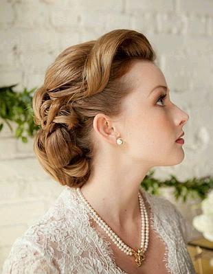 Más de 1000 ideas sobre Peinados Vintage en Pinterest Peinados  - Peinados Vintage Para Bodas