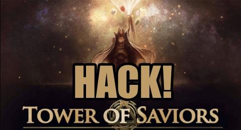 tower of saviors hack add unlimited diamond hack tower of saviors hack