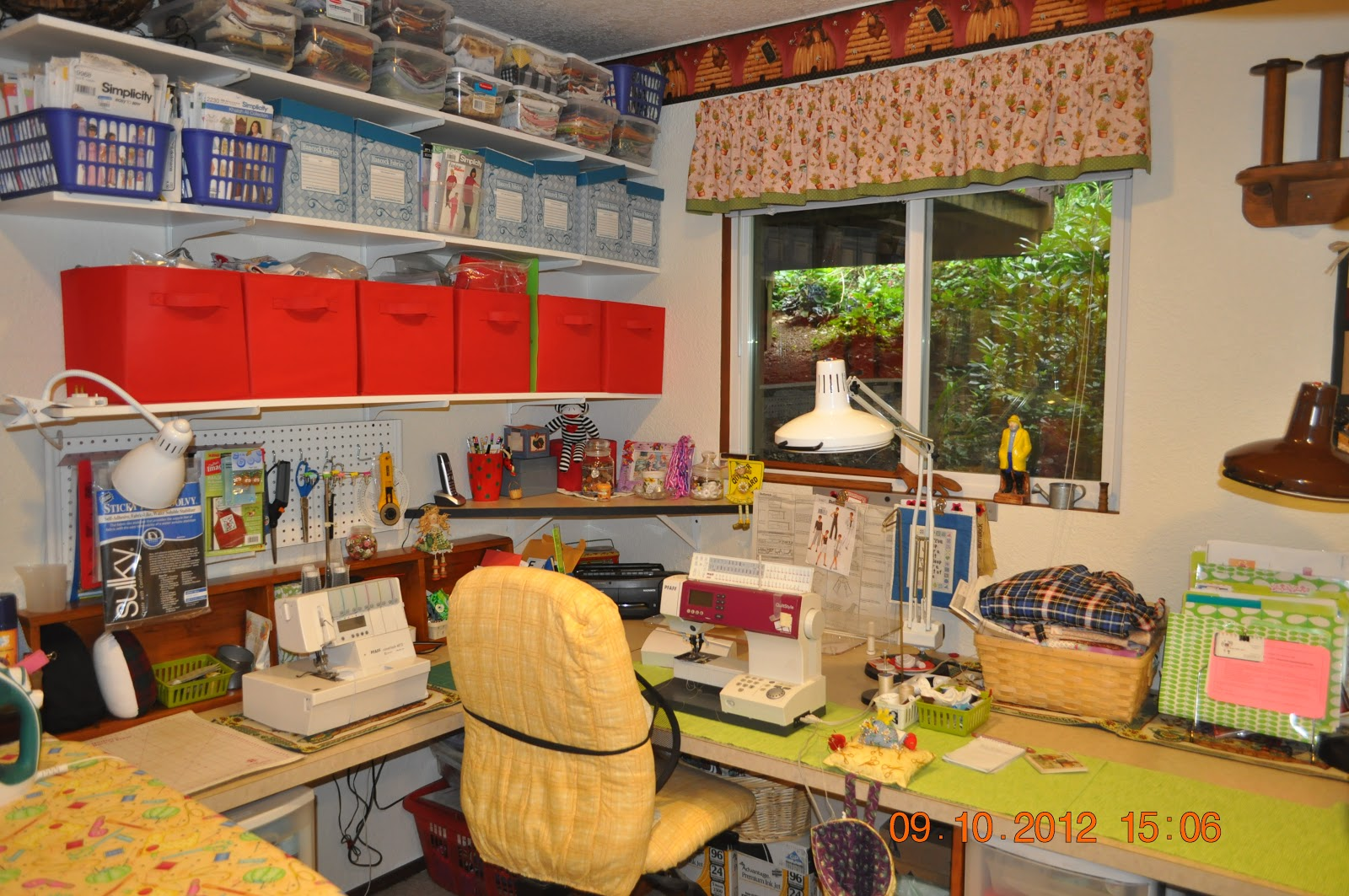 LindaLouQuilts: Sewing Room and Quilting Studio