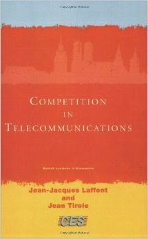 """competition in telecommunications - Jean Tirole"