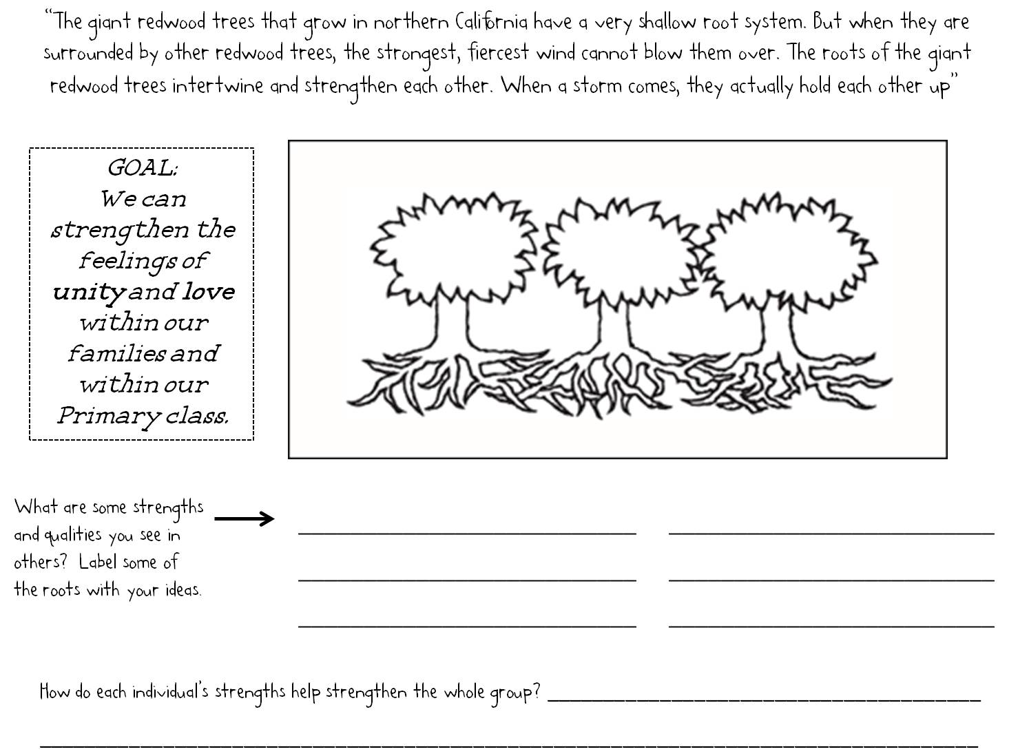 Here's a worksheet to go with Lesson 16: The Saints Gather to Kirtland  Ohio. Click HERE to read the entire lesson.