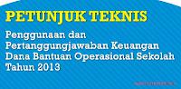 Download Petunjuk Teknis (JUKNIS) BOS 2013