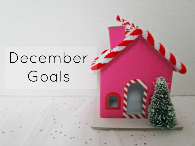 December Goals | 4 goals for December by Courtney's Little Things