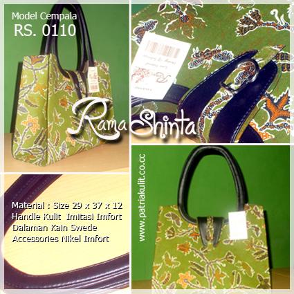 Ready Tas Batik Kombinasi Kulit Imitasi Harga Rp. 350.000,- + Ongkir ...