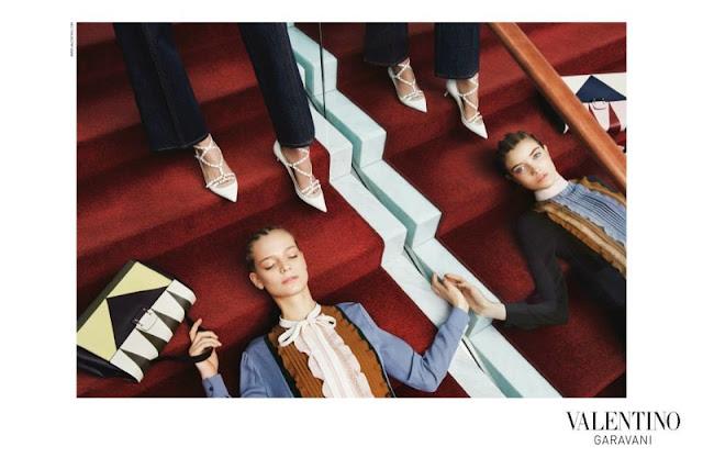 Valentino Pre-Fall 2015 Campaign