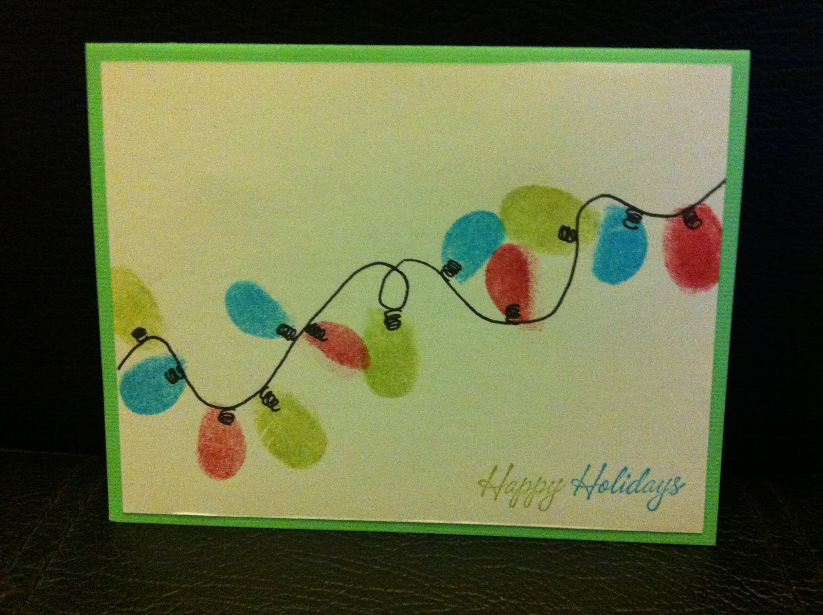Christmas Card Making Ideas Early Years Part - 20: .: Christmas Comes Early This Year.