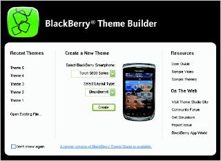 Create BlackBerry Theme BlackBerry® Theme - The BlackBerry® Theme Studio