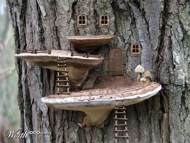sapnis par mazu mājiņu meža malā