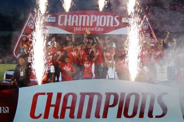 Persatu Tuban Kampiun Liga Nusantara 2014