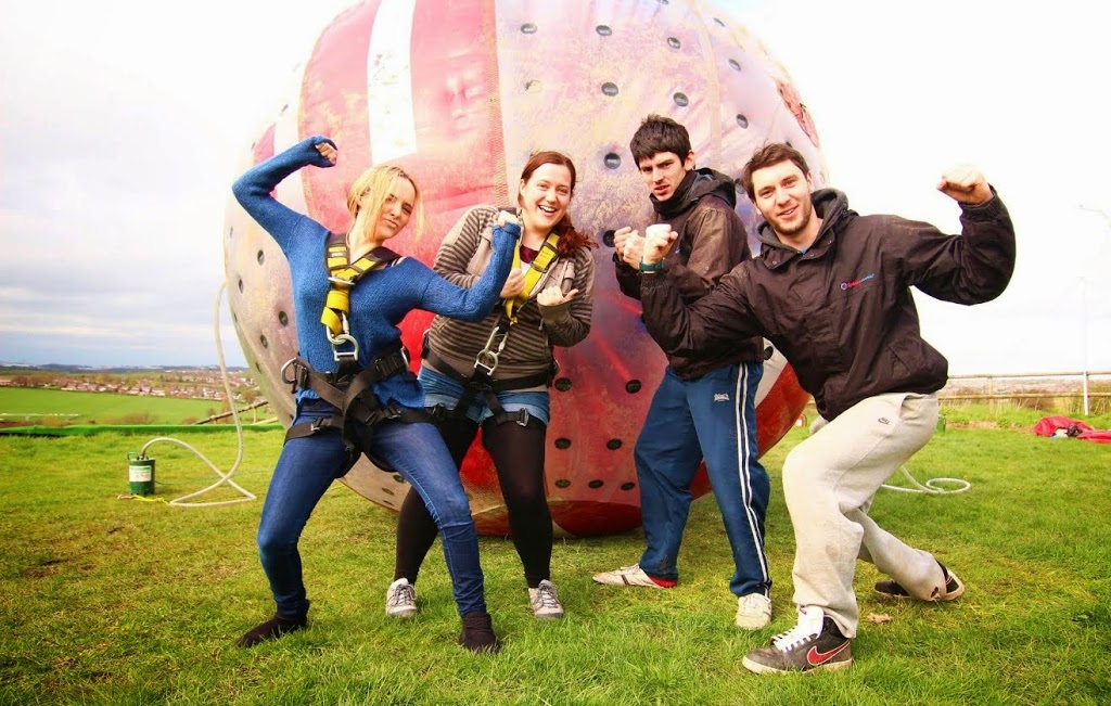 experience days worldwide aqua zorbing for two
