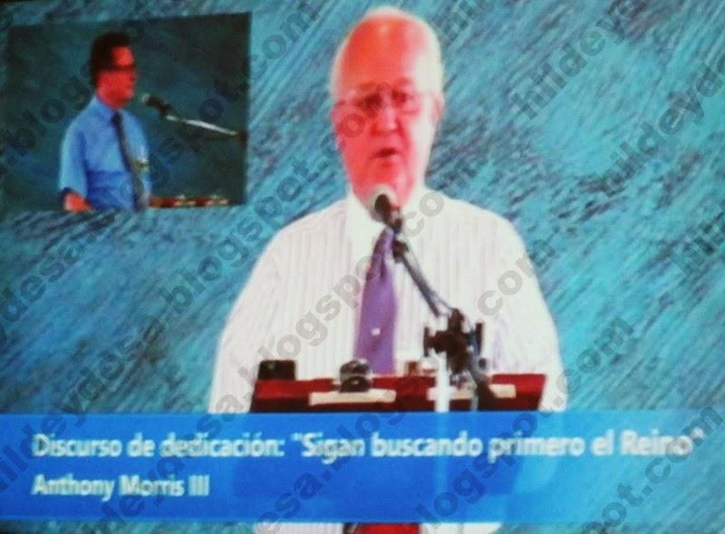 Dedicación del nuevo Salón de Asambleas de Barranquilla, por Anthony Morris III