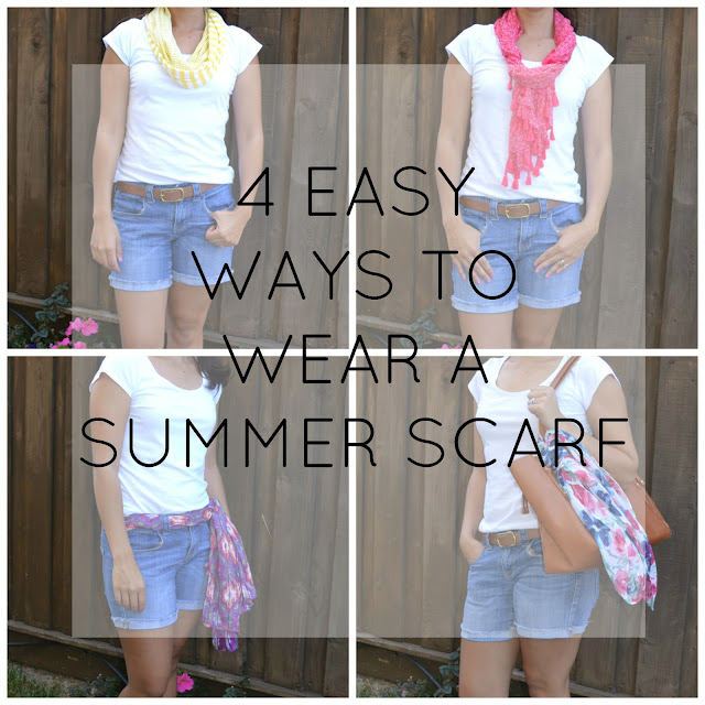 Easy Ways to Wear a Summer Scarf