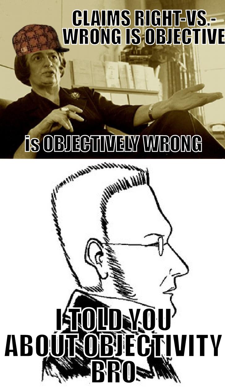 the aquarian agrarian  scumbag ayn rand vs  max stirner memes