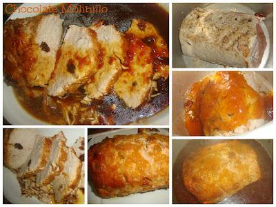 Lomo en Salsa de Chabacano