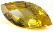 Leaf_shaped_Golden_Yellow_Checker_CZ_Stones_China_Factory