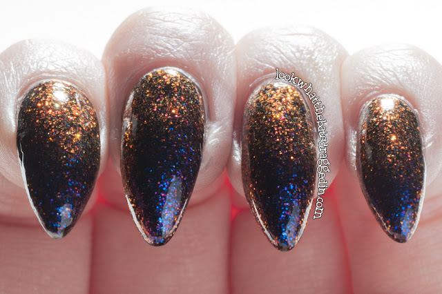 Lilypad Lacquer Dragons Fly swatch duochrome