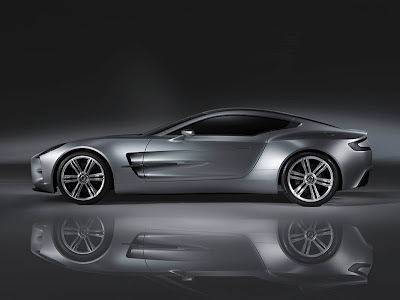 Aston Martin One - 77 Side