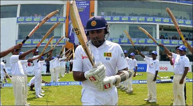 Mahela Jayawardene's retirement from Test Cricket.