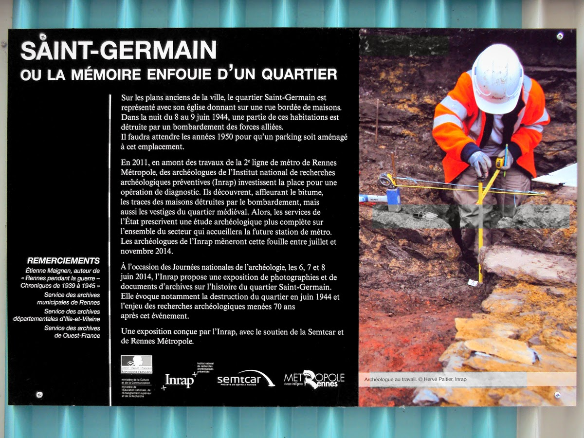 SAINT-GERMAIN ou la mémoire enfouie d'un quartier