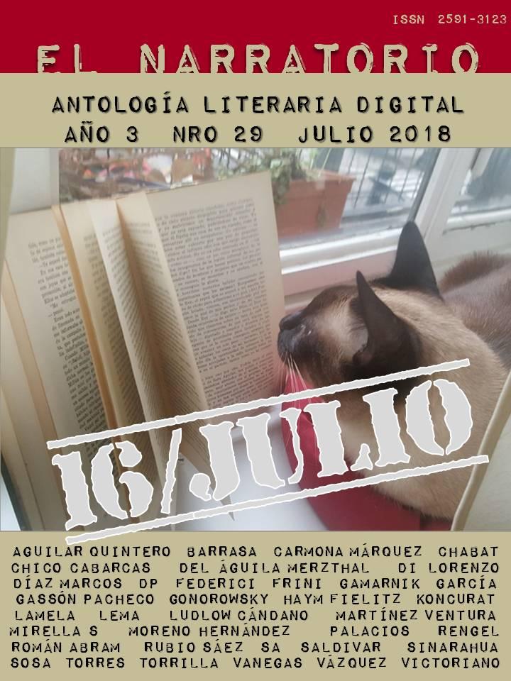 EL NARRATORIO - ANTOLOGÍA LITERARIA DIGITAL N° 29
