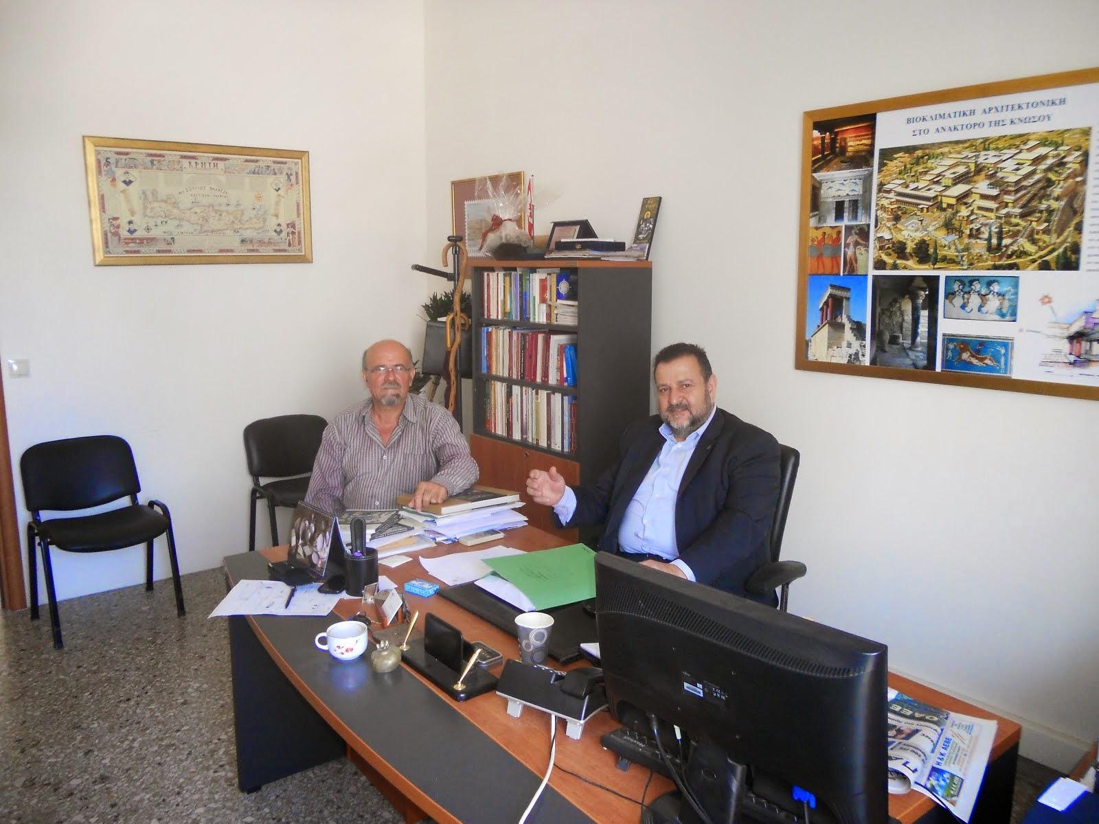 Συνάντηση με υπουργό εργασίας για θέματα που αφορούν τους τριτέκνους