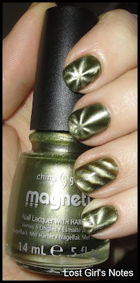 china glaze magnetix cling on nail polish swatches and review