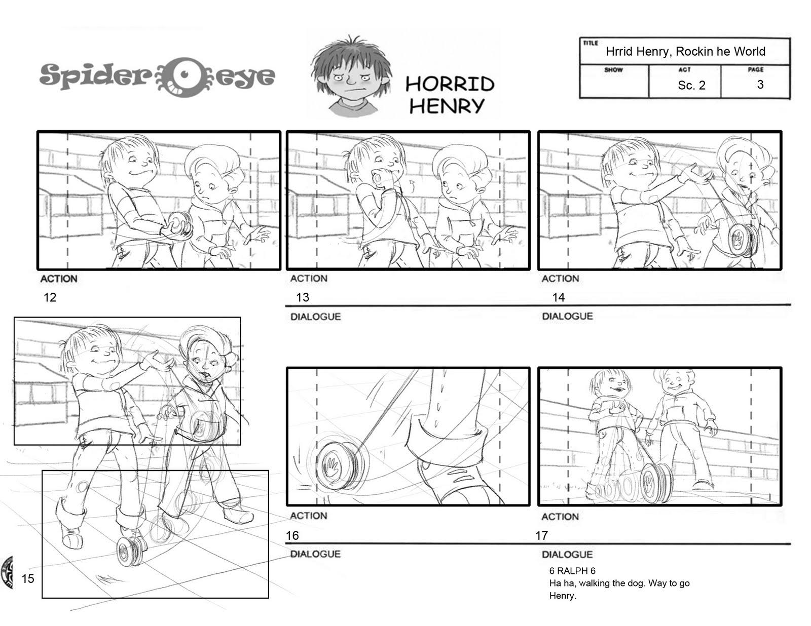 Horrid Henry Rockin The World Excerpts 1