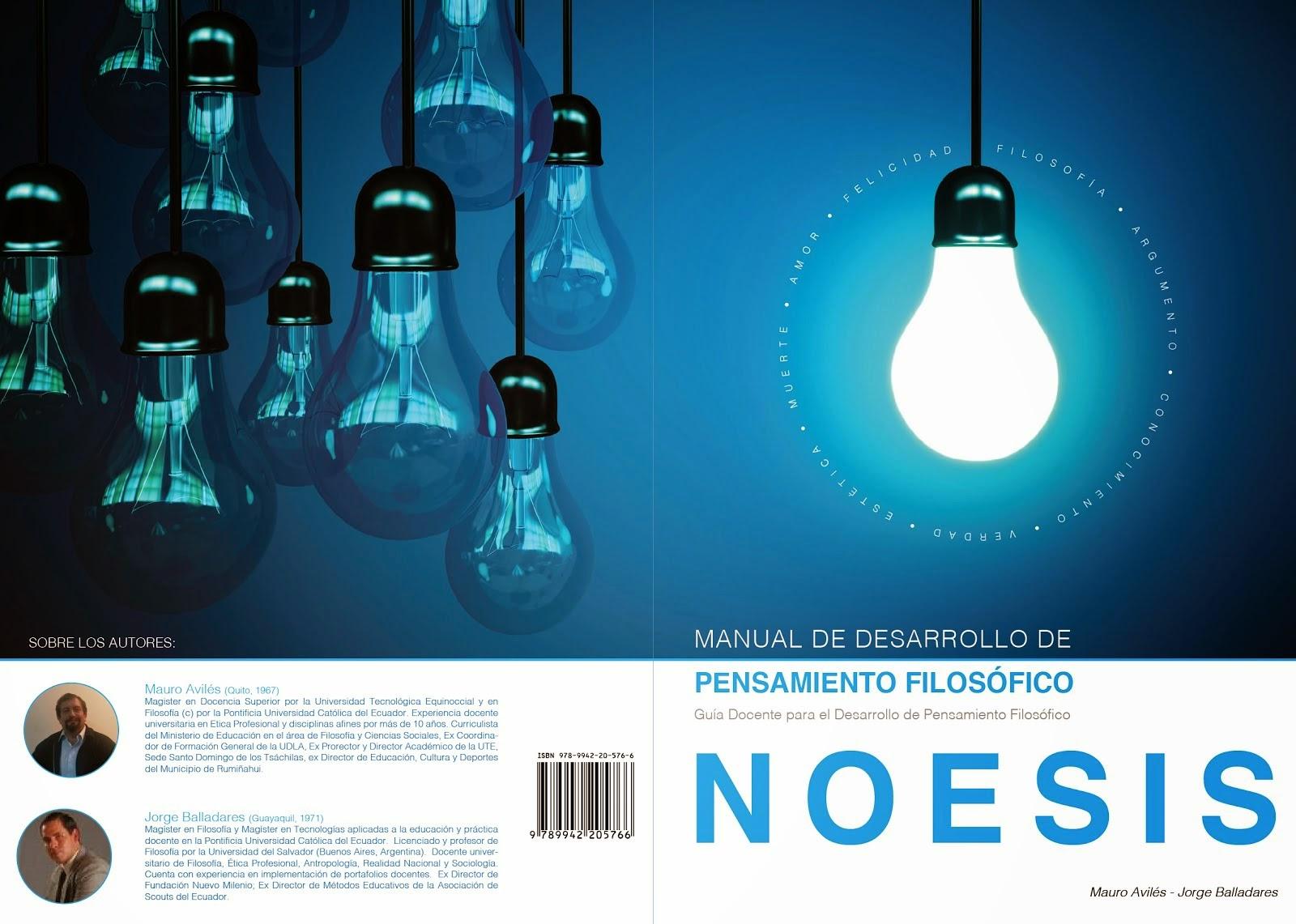 Noesis. Manual de Desarrollo de Pensamiento Filosófico