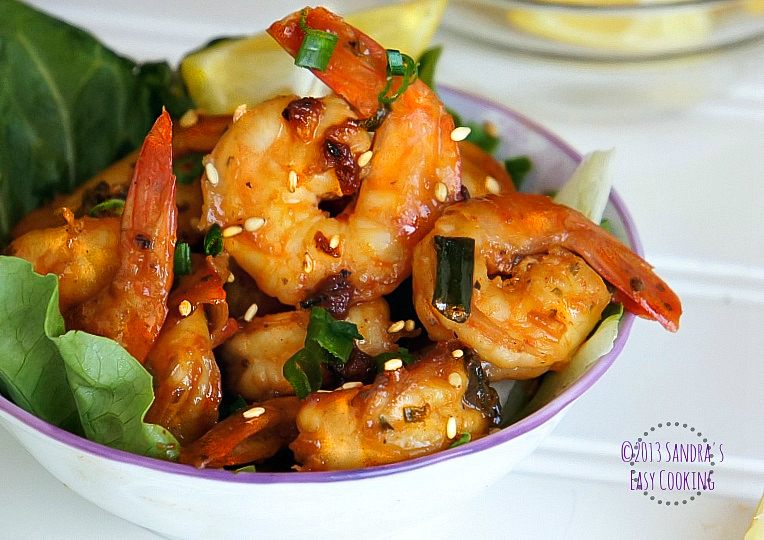 SANDRA'S EASY COOKING: Sweet & Spicy Shrimps