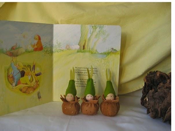 Seizoentafel lente  Atelier de Vier Jaargetijden