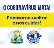 Porto Barreiro - Vamos CONTER o CORONAVÍRUS