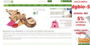 PrimoBio codice sconto dgbio-5