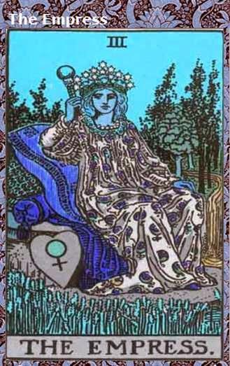 Tarot Zone Scorpio Horoscope May 2015 The Empress
