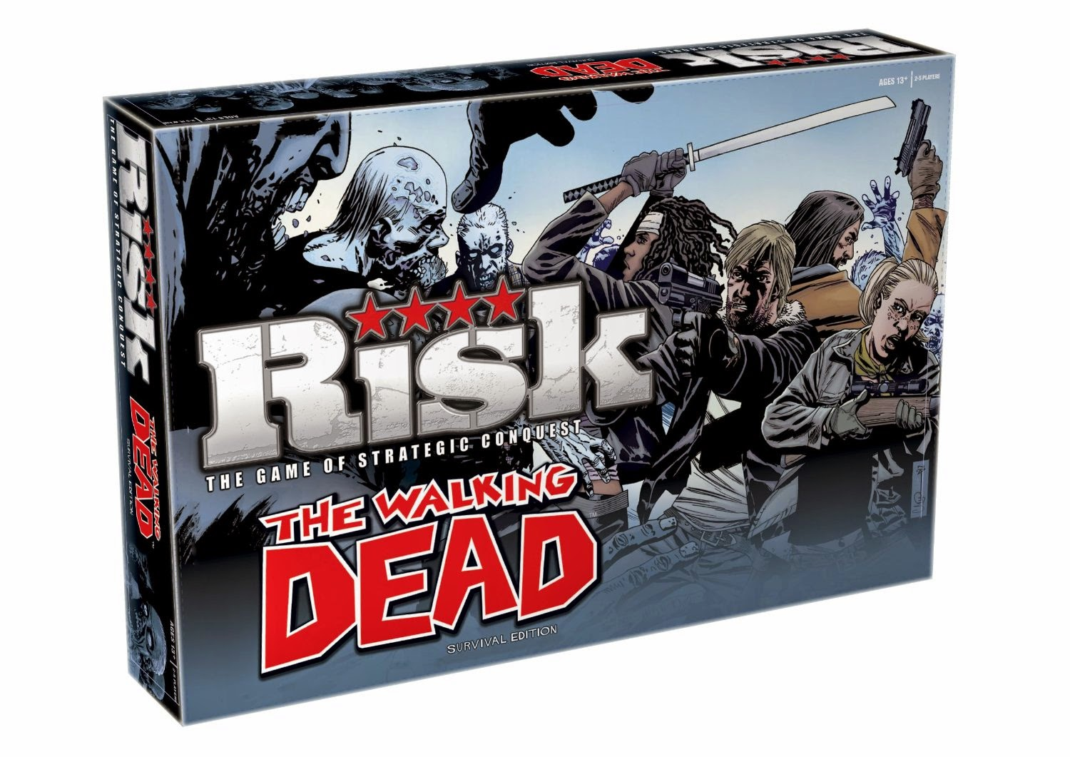 Juego de Risk The Walking Dead