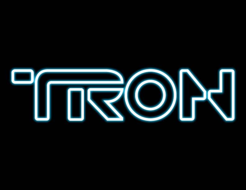 Vector Of The World Tron Logo