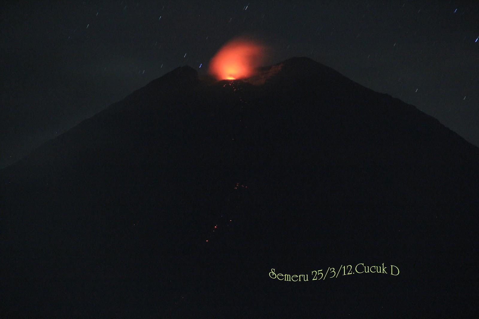Status Gunung Semeru Saat Ini Gunung Semeru Saat Ini Dalam