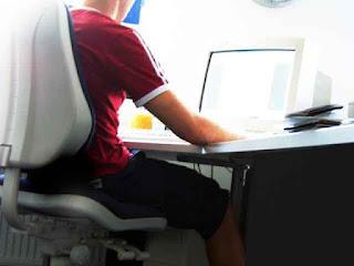 Sentarse bien frente al ordenador