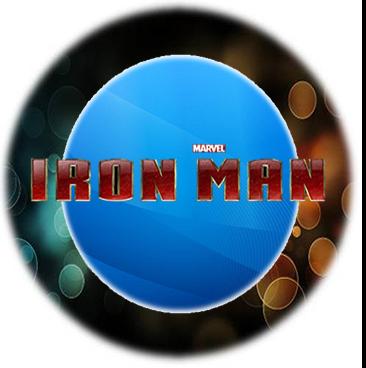 Toppers, stickers o etiquetas para Imprimir Gratis de Iron Man.
