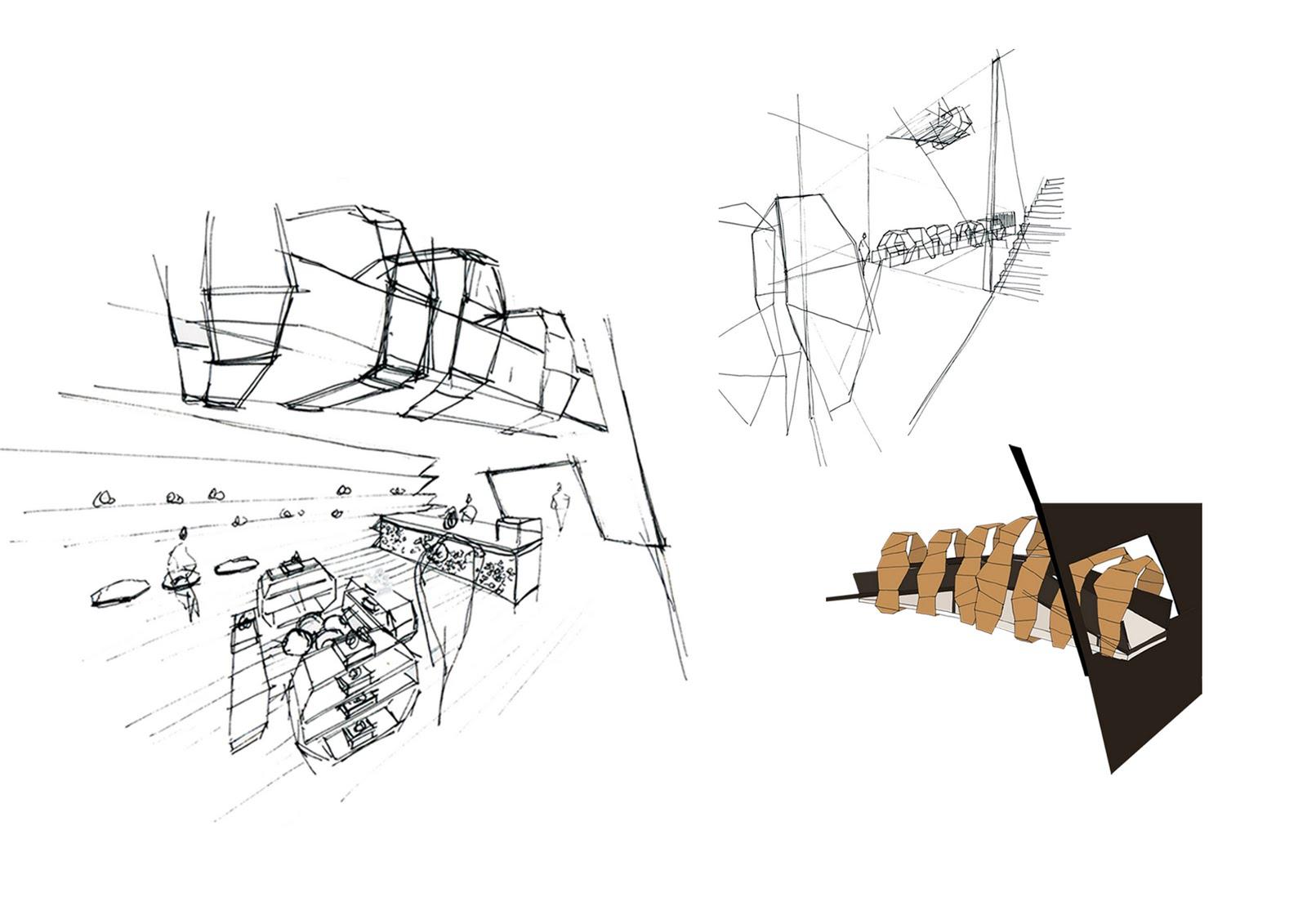 Interior Design Portfolio Luxe Shoe Shop Final Degree