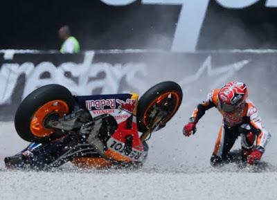 Duo Yamaha Tak Mau Terlena dengan Crash-nya Marquez