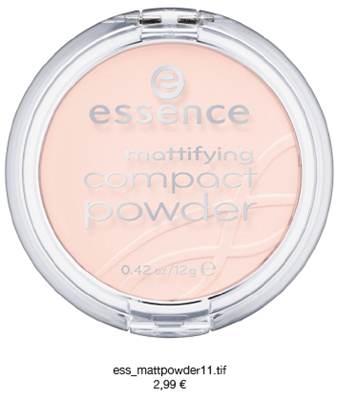 Essence Mattifying Compact PowderFinish Mat