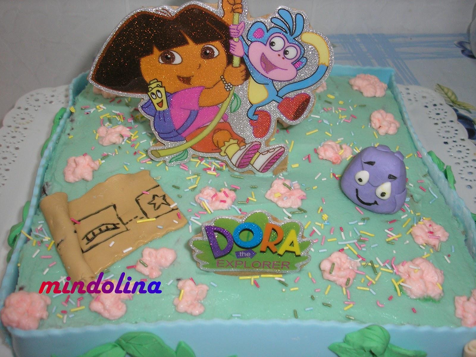 Mindolina en la cocina tarta dora exploradora para paula - Dora la exploradora cocina ...