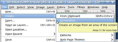 screenshot slike GIMP trikovi