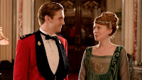 Matthew Crawley presents Lavinia Swire