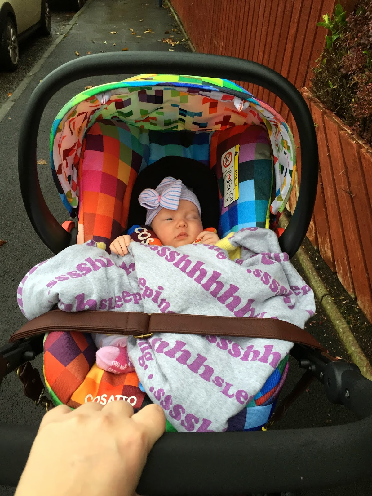 Easy school run with baby