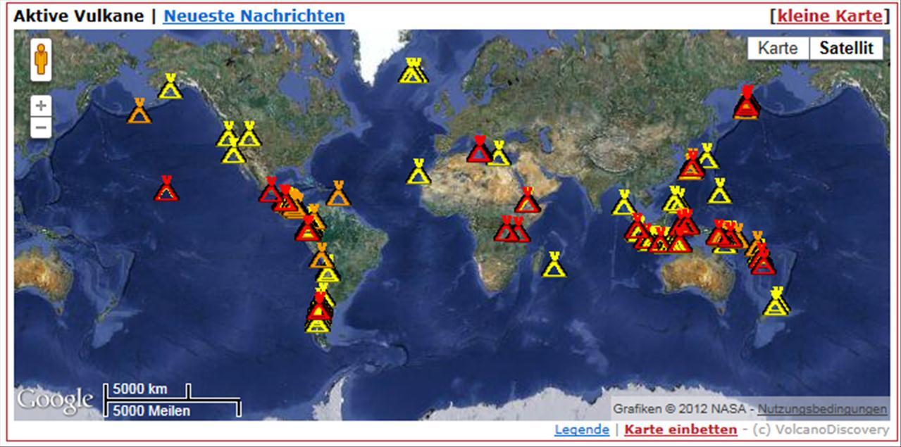 pyramiden weltweit karte